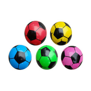 Inflatable-Football-Assorted-Beach-Pool-Ball-Sports-Kick-Game-Kids-Toy-EB