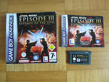 GBA - Star Wars Episode III - Revenge Of The Sith - Game Boy Advance LA rpg 3d