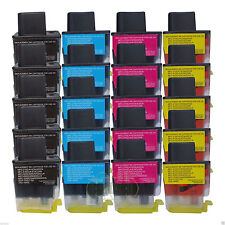 New 20PK Ink For Brother Brother MFC-210C MFC-420CN CLC41 LC-41BK LC-41C LC-41M
