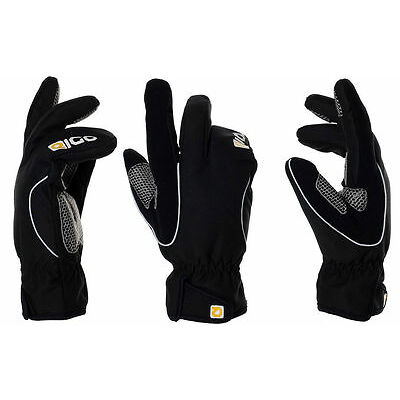 EIGO BLACK LOBSTER WINDPROOF WINTER CYCLE GLOVES