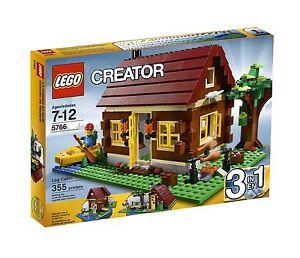 LEGO-Creator-Rare-Creator-Log-Cabin-5766-New-amp-Sealed