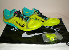 $120 NIKE Zoom Victory XC 3 Cross Country Shoe Cleats Spikes Bag GREEN Mens 12.5