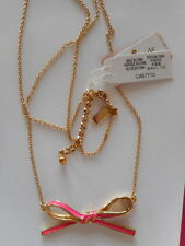 KATE SPADE Pink Skinny Mini necklace NWT
