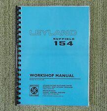 New Leyland 154 Tractor Workshop Manual