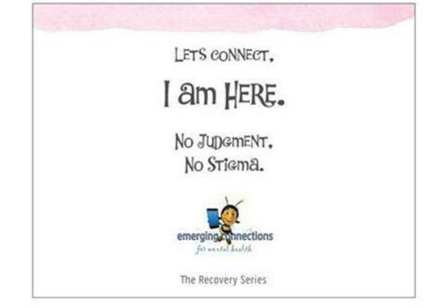 IT/'S A DISORDER ~ Mental Health Support Cards// Note Cards ~ The RECOVERY Series