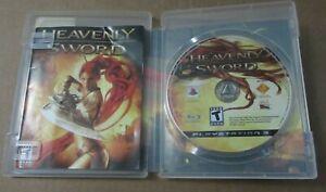 Heavenly Sword Playstation 3 Ps3 2007 Cartucho De Video Juego