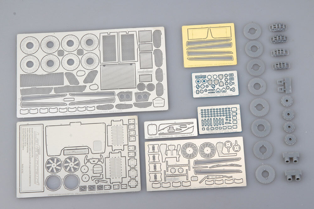 Hobby Design HD02-0271 1 24 LaFerrari Detail-up Set for Tamiya