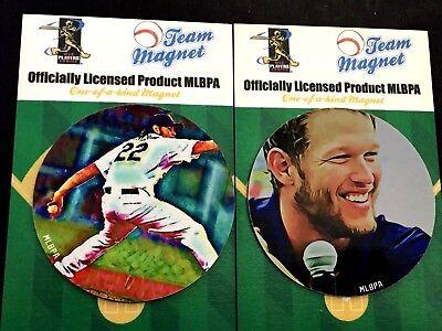 Energisch Los Angeles Dodgers Clayton Kershaw Magnets- -tru Blueteam Collectibles 2