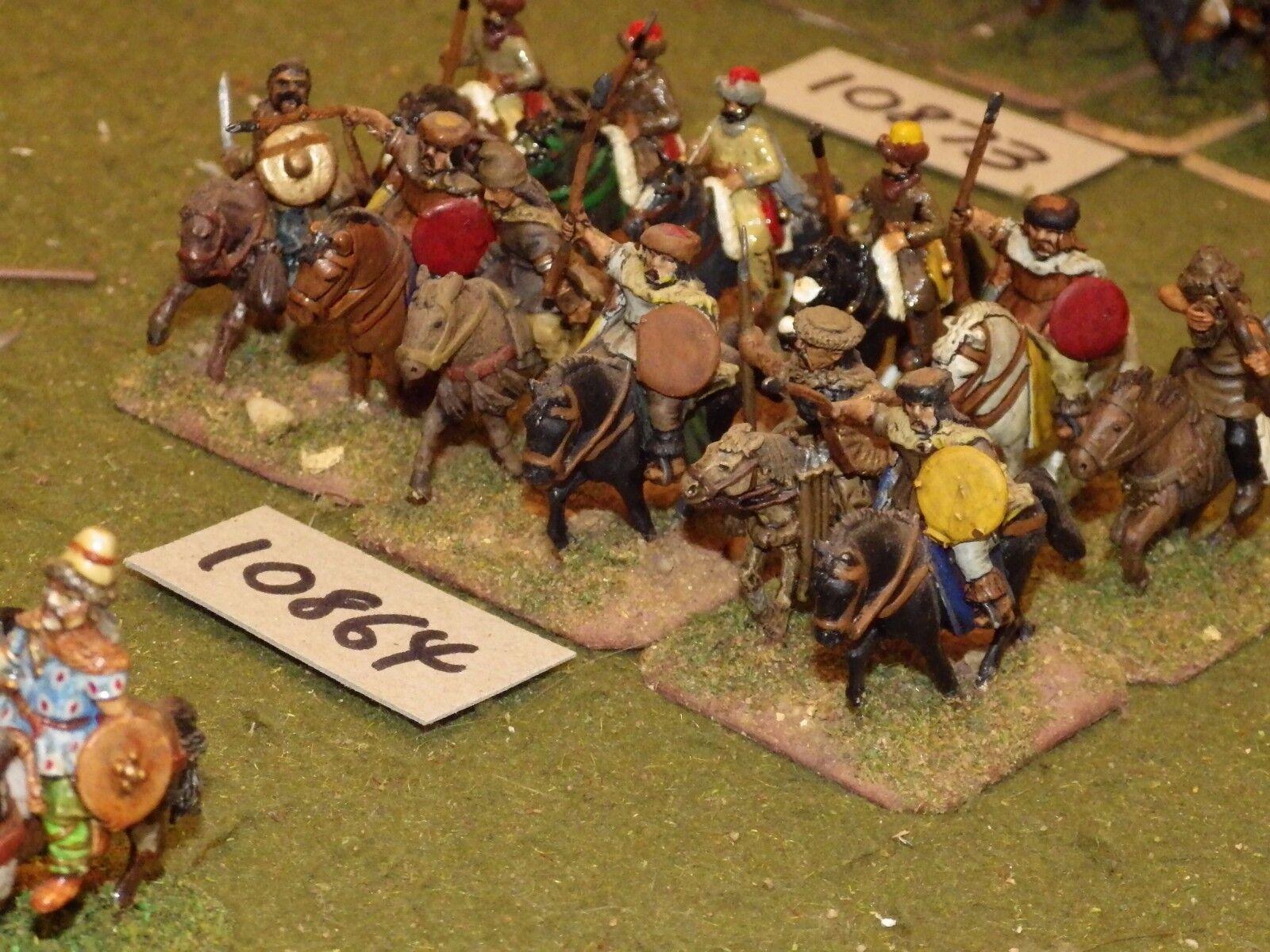 25mm dark ages   hun - cavalry 12 cavalry - cav (10864)