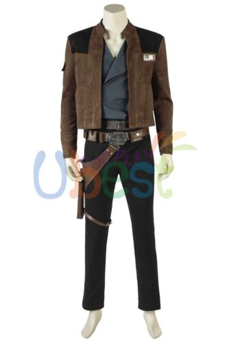 New Solo A Star Wars Story Han Solo Cosplay Costume