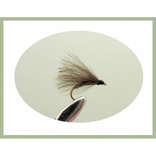 tailles au choix Pour La Truite Pêche à la mouche 3 couleurs Pack de 18 F Fly F mouches
