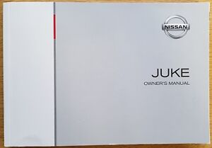genuine nissan juke juke nismo handbook owners manual book 2010 rh ebay co uk 2015 juke owner's manual juki owner's manual