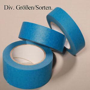Abdeckband-Malerkrepp-30mm-Blau-Kreppband-Abklebeband-Malerbedarf-Malerband