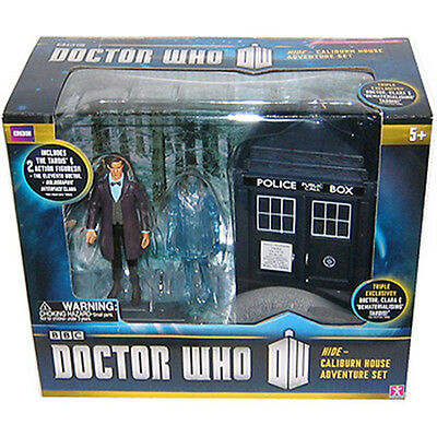 """/'Hide/' Caliburn House 3.75/"""" Action Figure Set Character Group DOCTOR WHO"""