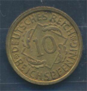 German-Empire-Jagerno-317-1933-J-UNC-10-reich-pfennig-spikes-7879638