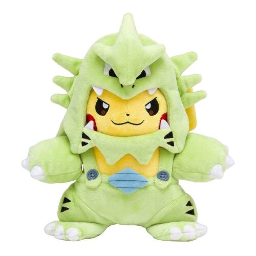 NEW Pokemon Pikachu Tyranitar Mania 8/'/' Plush Doll Toys XMAS GIFT 20CM 8inch