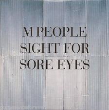 M PEOPLE - Sight For Sore Eyes (UK 4 Trk CD Single)