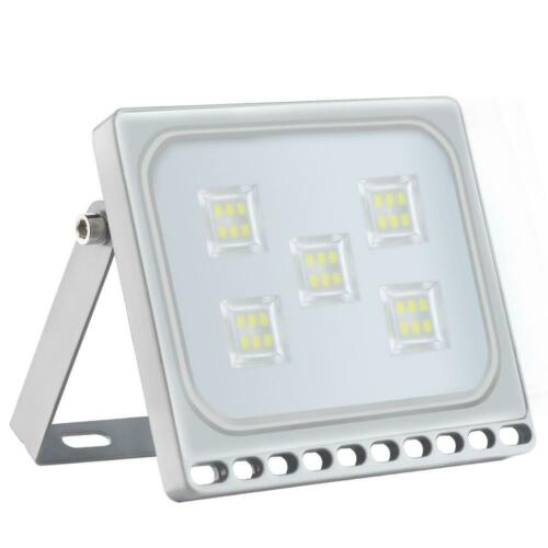 LED Floodlight 10W 30W 50W 100W 500W PIR Outdoor Yard Lamp Security Flood Light