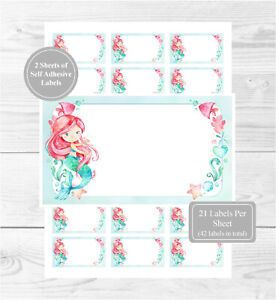 2 A4 Sheets, 21 Per Sheet Fun For Address LabelsGift TagsParty Bags 42 Blank Multi Purpose Stickers Ballerina Labels