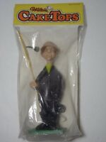 Vintage 1971 Wilton Cake Topper 6 Inch Prize Catch Fisherman Old Man 4 Piece