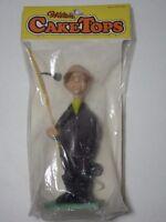 Vintage 1971 Wilton Cake Topper 6 Inch Prize Catch Fisherman Old Man 4 Piece