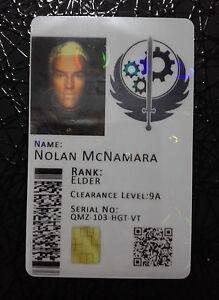 Brotherhood-of-Steel-Novelty-Cosplay-ID-Badge-Card-Fallout-CUSTOMISABLE