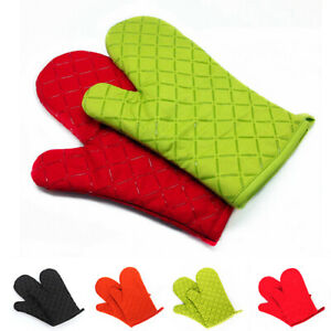 Am-Kitchen-Heat-Resistant-Silicone-Glove-Oven-Pot-Holder-Baking-BBQ-Cooking-Wid