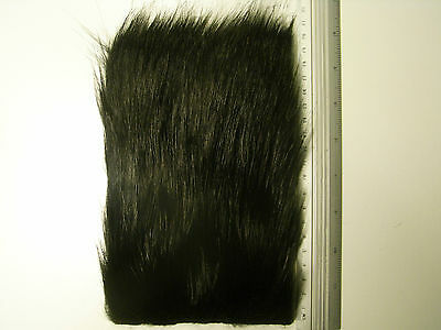 """Fly Tying Synthetics /""""  EXTRA SELECT CRAFT FUR /""""   MEDIUM BROWN   Big Patch"""