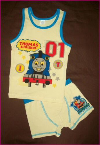 Trains NEW THOMAS /& FRIENDS Sz 3 4 5 6 or 7-2pc Underwear Set UNDIES /& VEST