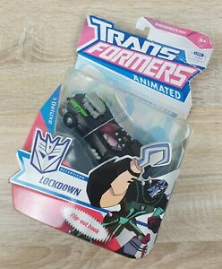 """Hasbro Transformers Animated  """"Lockdown"""" Deluxe Figure - Card Damaged"""