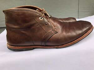 Timberland Boot Company Men's Brown Leather Wodehouse Chukka Boots Size US  10 | eBay
