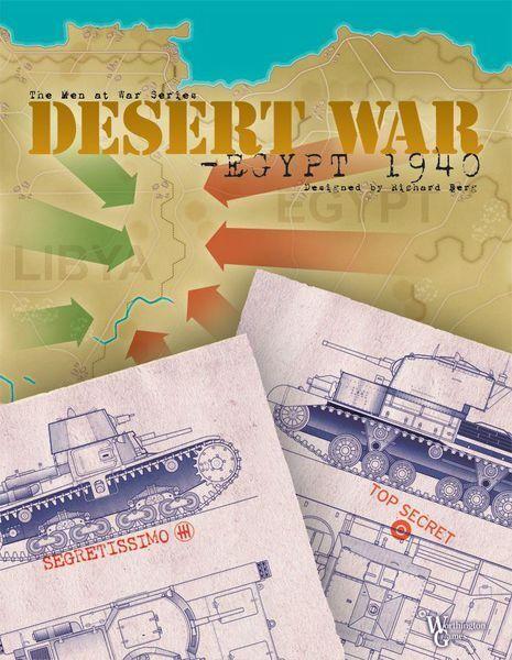 Desert War - Egypt 1940 - Worthington - New in Shrink