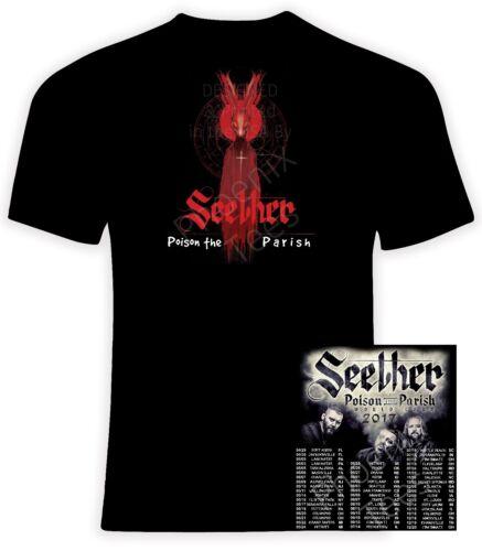 Seether Poison the Parish 2017 World Tour Sizes S-6X