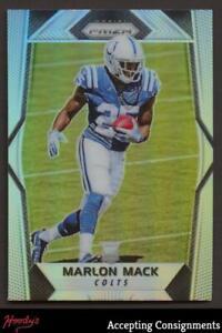 2017 Panini Prizm Prizms Silver #287 Marlon Mack RC Colts ROOKIE