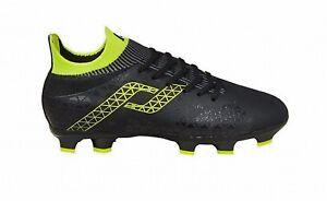 Pro-Touch-enfants-cames-Chaussure-de-football-Speedlite-Fg-Jr-Noir-Jaune