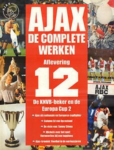 AJAX-DE-COMPLETE-WERKEN-12-DE-KNVB-BEKER-EN-DE-EUROPA-CUP-2