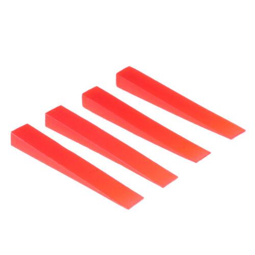 Piano Tuning Tool 4pcs Gummi Dämpfer für Piano Parts Zubehör Rot