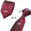 Classic-Red-Black-Blue-Mens-Tie-Paisley-Stripe-Silk-Necktie-Set-Wedding-Jacquard thumbnail 19