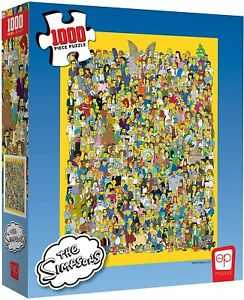 USAopoly The Simpsons Cast of Thousands Jigsaw Puzzle - PZ006025 (1000 Pieces)