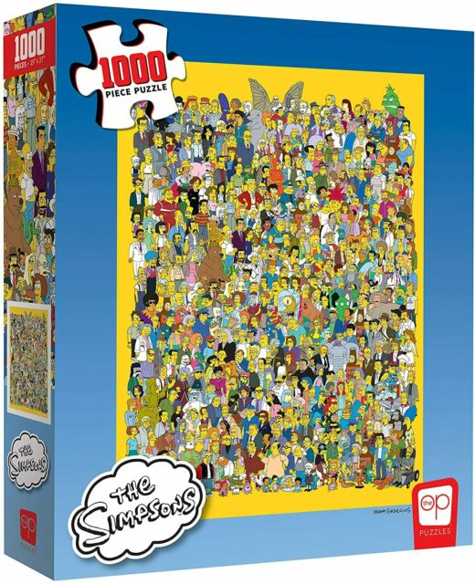 The Simpsons: Cast of Thousands Jigsaw Puzzle - 1000 Pieces