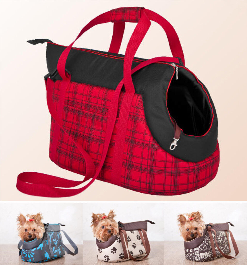 Travel Dog Bag Puppy Kitten Rabbit Carrier Cage Crate Handbag Tote Deluxe