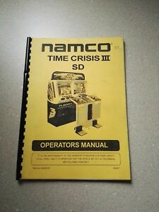 Analytique Namco Time Crisis 3 Sd Original Operator Manual