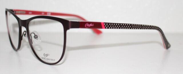 1c6c7babb71c CANDIES CA0124 070 MATTE BORDEAUX New Designer Optical Eyeglass Frame For  Women