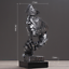 Charakter Skulptur Deko Figur Geschenk Statue Haushalt Restaurant Dekoration L