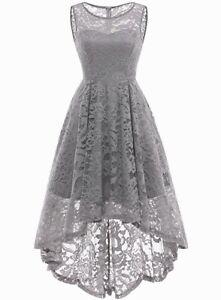 Vintage Gray Cocktail Dresses