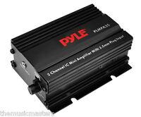 12vdc 30 Watt X 2 Mini Power Amplifier 3.5mm Headphone Input Car Motorcycle Atv