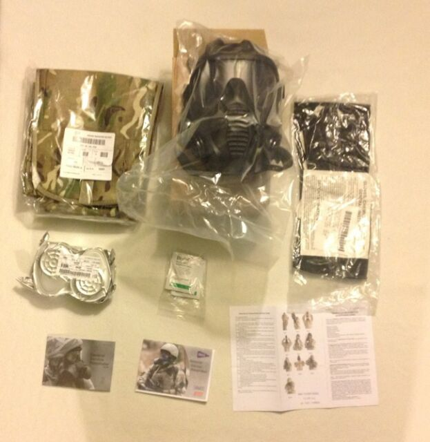 GSR General Service Respirator MPT Haversack Filters CBRN NBC military