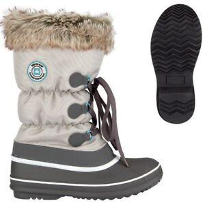 84ee536d89b7cb Das Bild wird geladen CANADIAN-STRAPPER-Winterstiefel-Schneestiefel-Damen- Winter-Stiefel-Snowboots