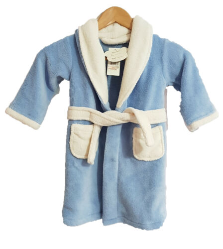 Kids Dressing gown//Robe in blue 18 to 24 months