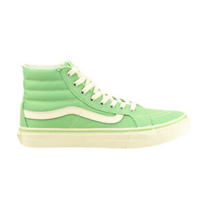 Details zu VANS Damen Schuhe Sneaker SK8 HI Slim V18IIMA Gr 41 Mint Grün Weiß Green SALE
